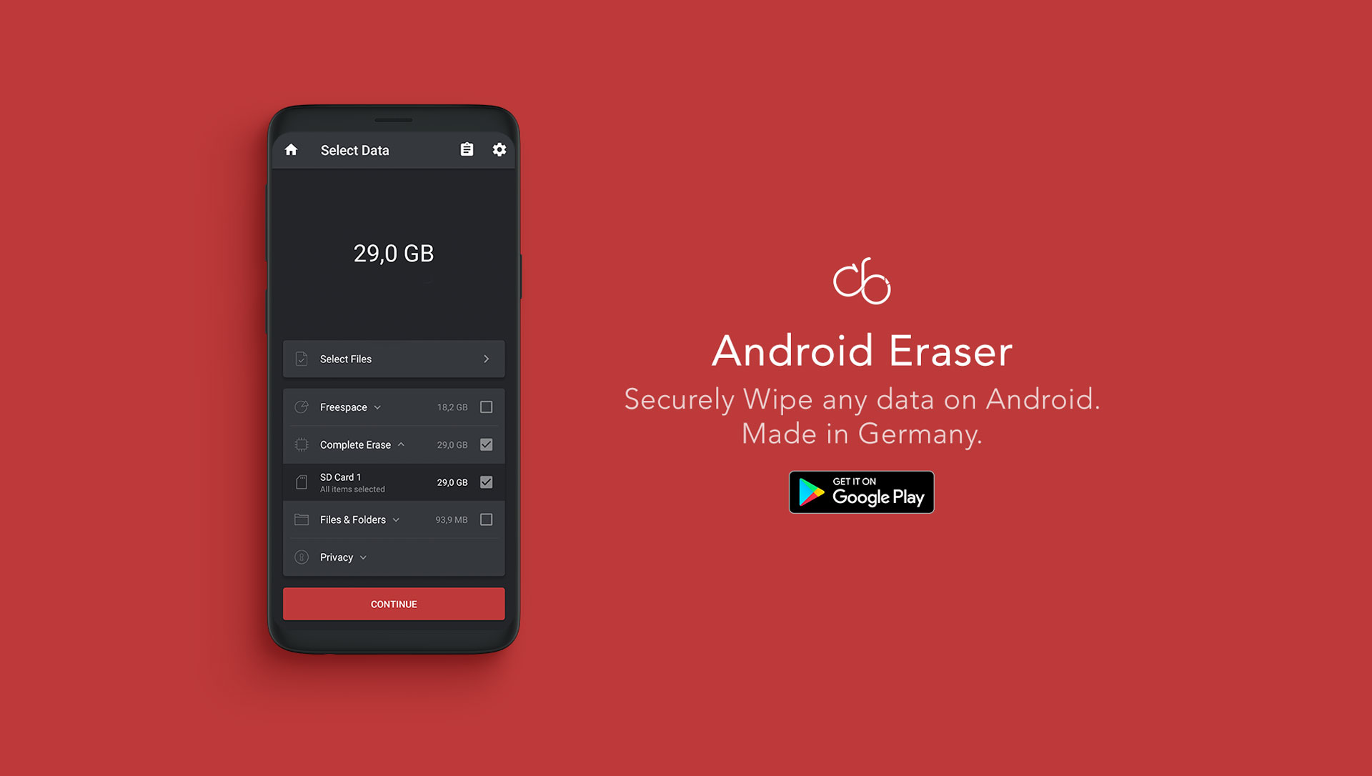 Android Eraser
