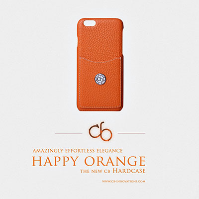 cb Hardcase Happy Orange